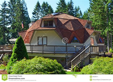 geodesic dome house plans free geodesic dome house royalty free stock photography image 20628217