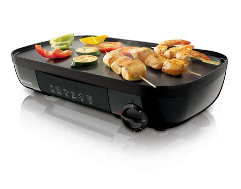 Pemanggang Listrik Table Grill Philips Hd 6321 daily collection table grill hd6320 20 philips