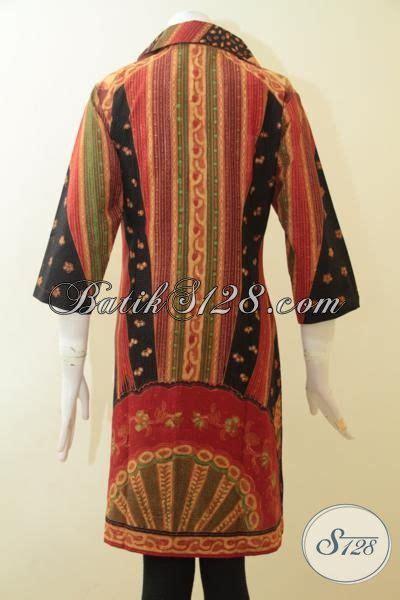 desain baju batik dewasa batik klasik dress cewek desain modern baju batik