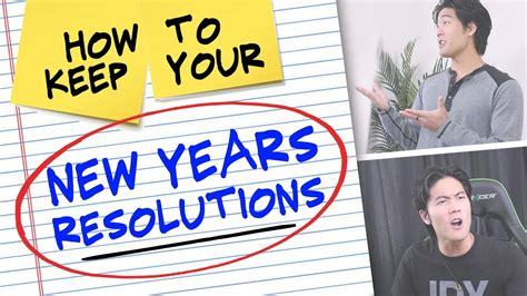 7 New Years Resolutions I Now To Keep by How To Keep Your New Years Resolutions