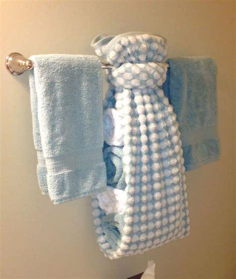 bathroom towel display ideas creative ways to display towels in bathroom hand towel