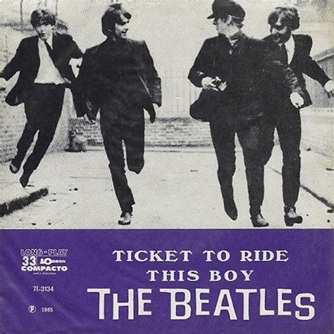 beatles this boy ticket to ride b w this boy brazil about the beatles