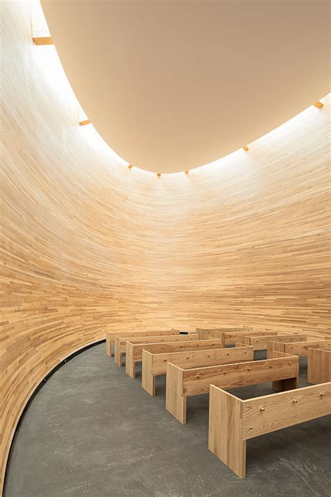 Interior Silence by In Helsinki An Chapel Of Silence Zdnet