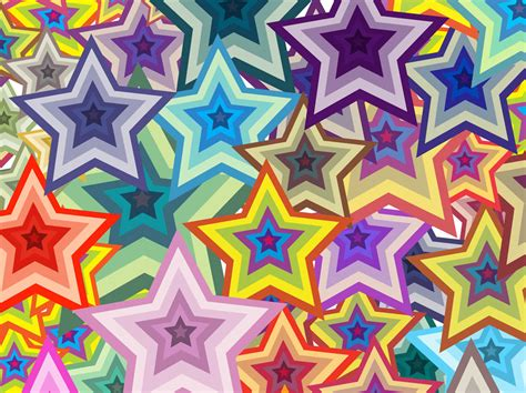 wallpaper colorful stars colorful stars background