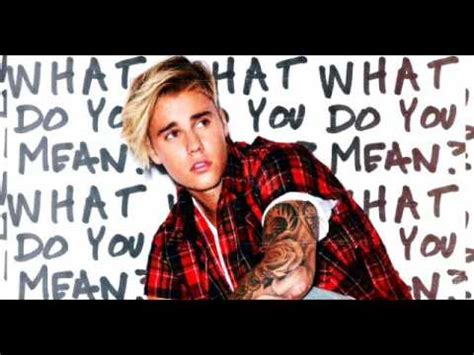 Download Mp3 Free Justin Bieber What Do You Mean | 74 mb free download mp3 justin bieber what do you mean