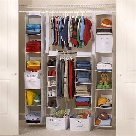 Used Closet Organizer hanging closet organizer why you should get one