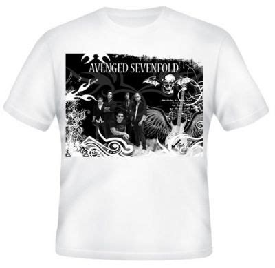 Kaos Distro Avenged Sevenfold K 067 kaos avenged sevenfold 21 kaos premium