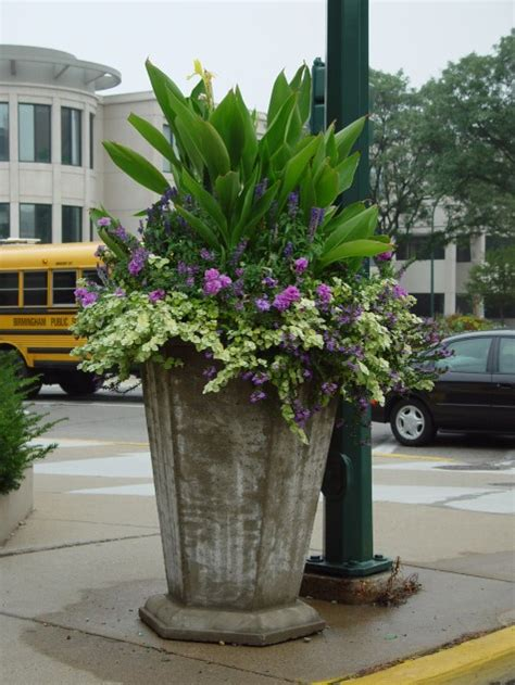 Commercial Flower Planters by Superb Commercial Planting I Would So Do This At Home