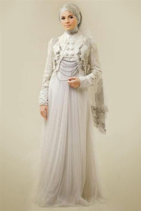 Gaun Muslim Terbaru gaun pengantin muslimah terbaru musim nikah 2017