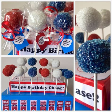 theme line red velvet montreal canadiens birthday theme with red white and blue