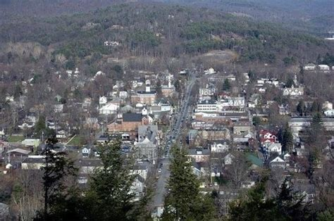 milford pa from the knob a great hike picture of myer