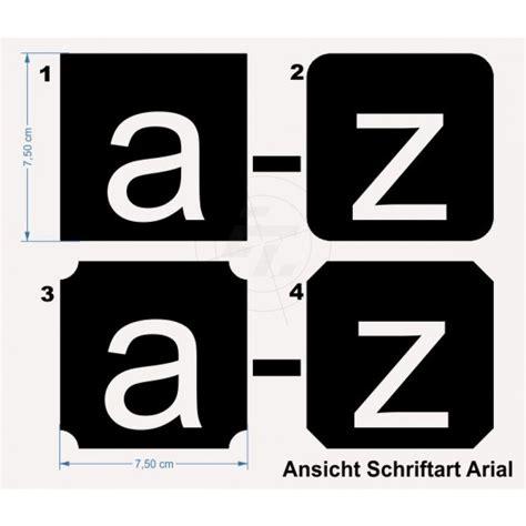 Klebebuchstaben Negativ by Set Buchstaben A Z Buchstaben Klein Negativ Optional