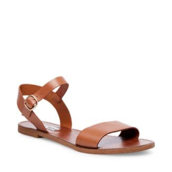 Steve Madden Donddi Flat Sandals by Leather Ankle Flat Sandals Steve Madden Donddi