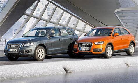 Auto Versicherung Q3 by Audi Q3 Und Audi Q5 Allrad Diesel Suv Im Vergleich
