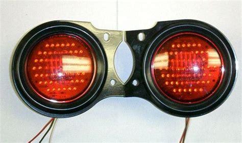 pair  early toyota fj land cruiser led tail lights lamps rear turn signal joetlc