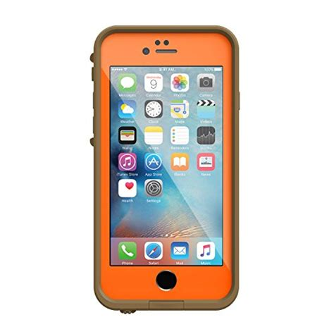 lifeproof 77 52528 fre waterproof for iphone 6 6s 4 7 inch version rt max 5 orange
