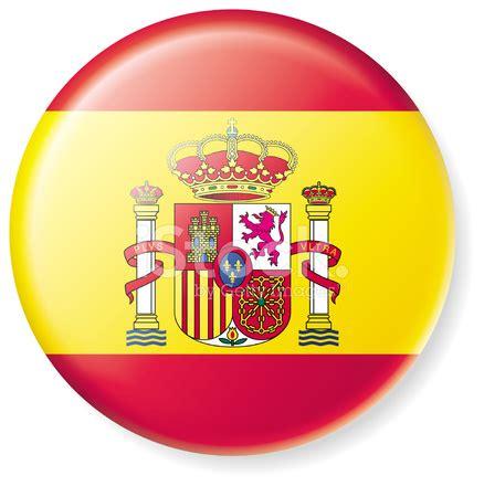 satin spanish flag button stock photos freeimages.com