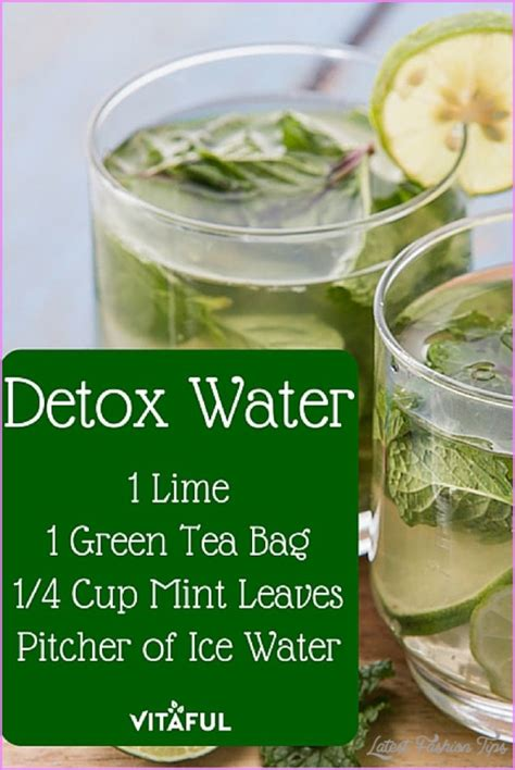 Flu Detox Water by Drink Recipes To Lose Weight Latestfashiontips
