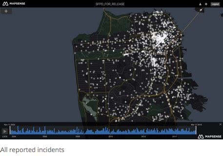 mapsense: geographical visualizations and analysis in a