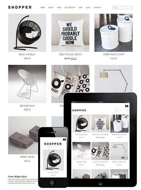 wordpress themes blog ecommerce shopper woocommerce theme free wordpress dessign themes