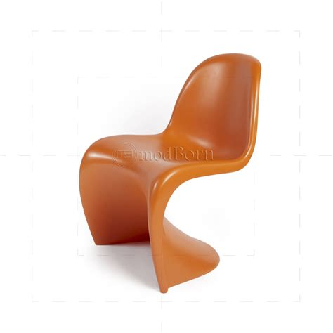 verner panton le verner panton chair orange