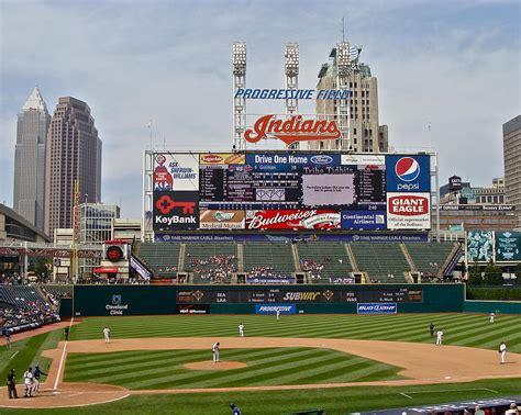Progressive Field Gift Card - cleveland indians at progressive field by mb matthews
