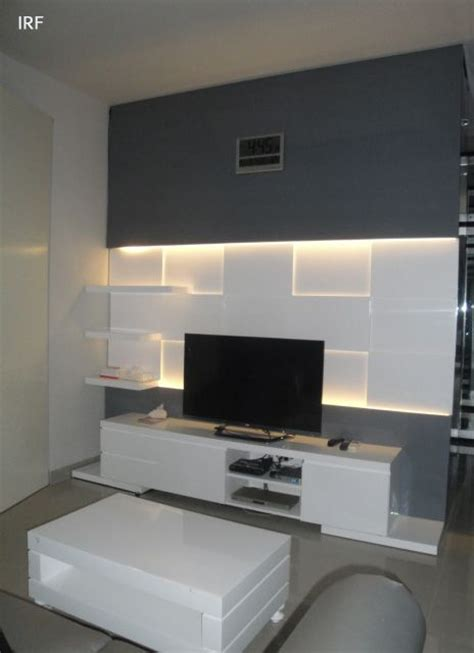 Modern Tv Units For Bedroom by David S Master Bedroom Tv Panel Mirrored White Irafra