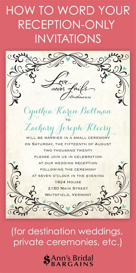 post wedding ceremony invitations invitation for wedding ceremony only luxury ebookzdb