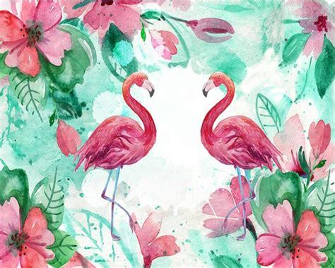 flamingos wallpaper tumblr cute