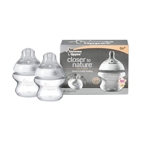 Botol Tommee Tippee Closer To Nature 150ml tommee tippee closer to nature easivent bottles 150ml pack chemist direct