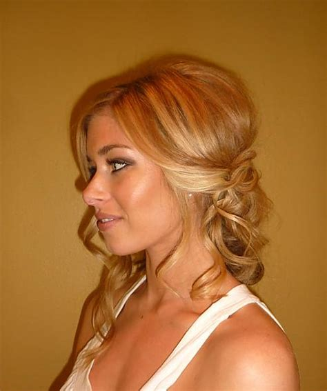 Wedding Hairstyles Swept To One Side by Hair Sideswept And