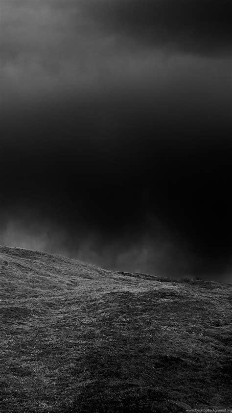 naturelandscape dark hill iphone   wallpapers black