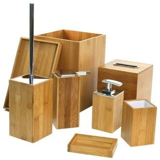 wood bathroom accessories sets 17 best ideas about bamboo bathroom on zen