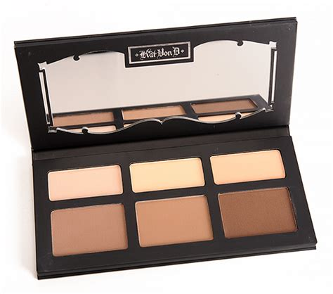 Kat Von D Shade Light Contour Palette Review Photos