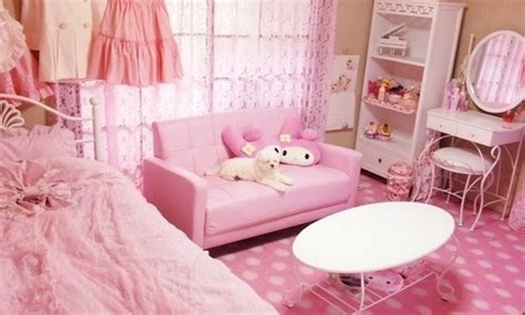kawaii bedroom pink kawaii room room decor storage ideas pinterest