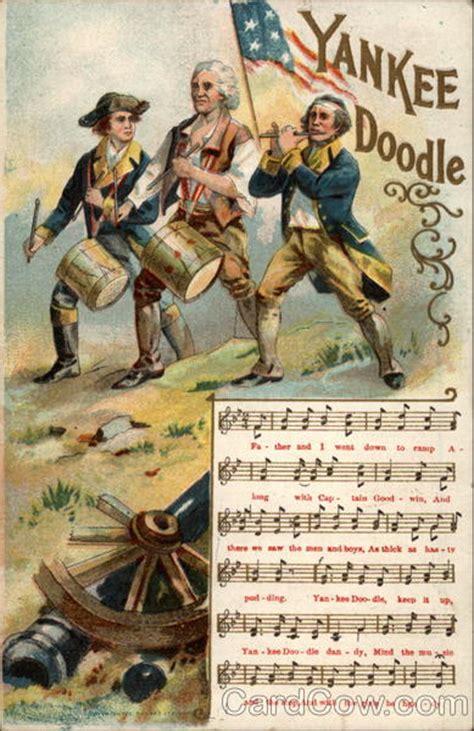 yankee doodle doodle do yankee doodle dandy songs lyrics