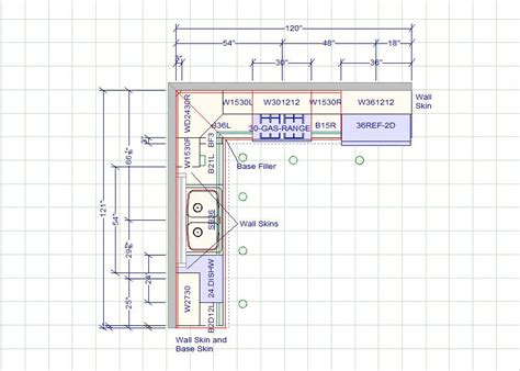 kitchen design measurements kitchen cabinets dimensions