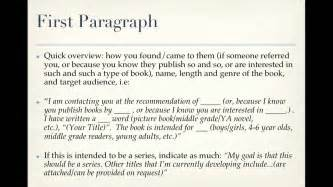 Book Query Letter How To Write A Picture Book Query Mov