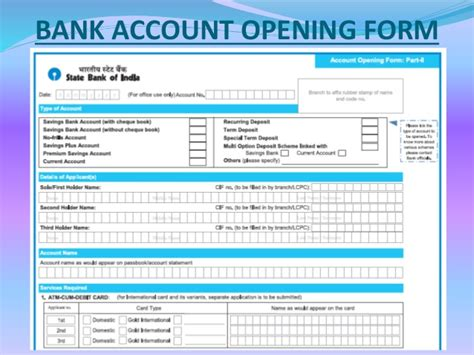 open bank account bank account opening and banking