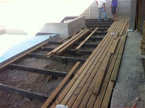 deck madera foto deck madera de constructora plano cubico 33035