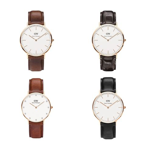 Daniel Wellington Original daniel wellington damen original klassische leder ultra