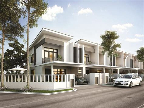 Garden Heights New 2 Sty Terrace Link House For Sale At Garden Heights