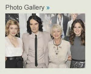 actress jennifer bitterman arthur movie premiere russell brand helen mirren get