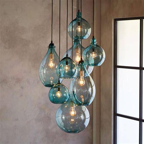 handmade glass pendant lights 15 best ideas of cluster glass pendant lights fixtures