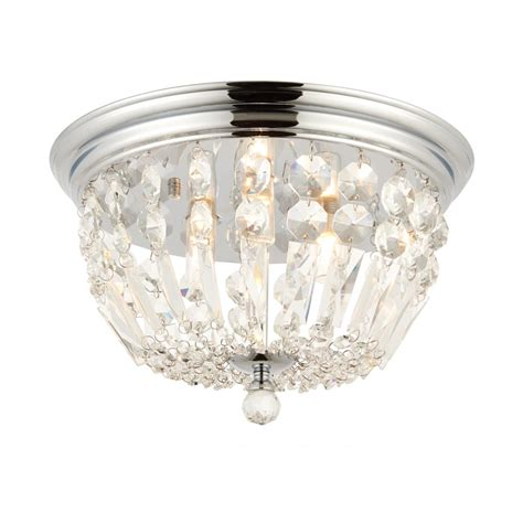 68814 Thorpe Bathroom Flush Light Decorative Decorative Bathroom Lights