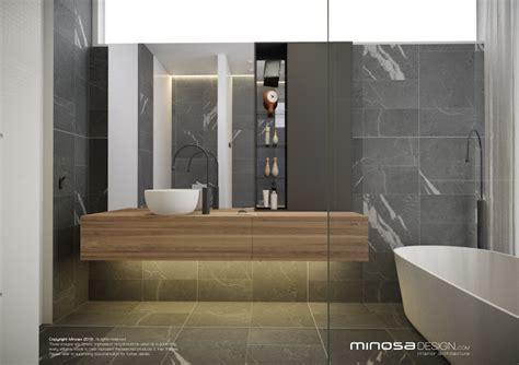 Modern Ensuite Bathroom Designs by Minosa Modern Bathroom Design To