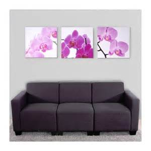 decoration murale orchidee