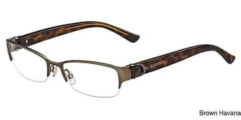 my rx glasses resource gucci 4254 semi rimless