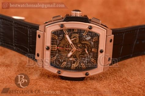 Hublot Senna 88 Black Leather hublot mp 06 senna chion 88 chrono replica quartz