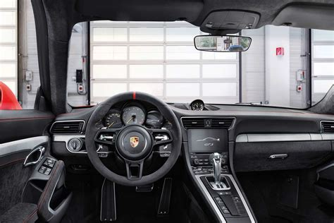 upholstery dashboard the new 2018 porsche 911 gt3 launched in india autobics